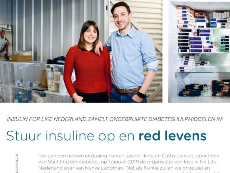Aandacht voor Insulin for Life in Diactueel